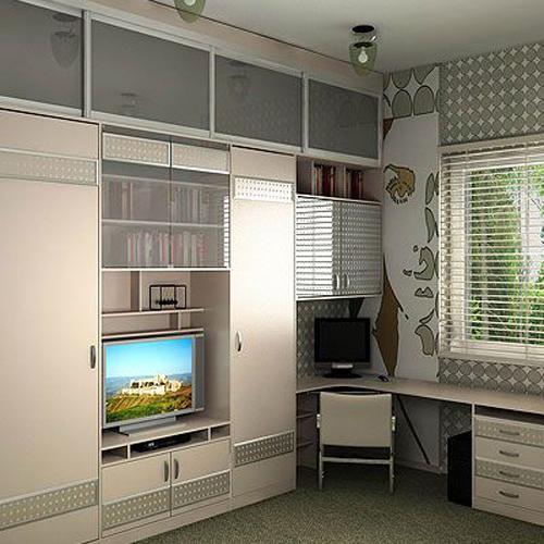 Мебель для подростка мальчика для маленькой комнаты фото